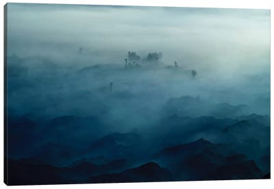 Land Of Fog Canvas Art Print