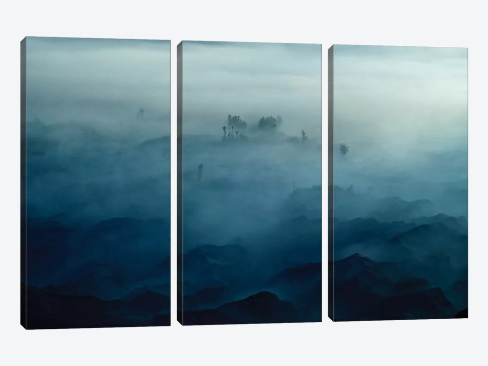 Land Of Fog by Rudi Gunawan 3-piece Canvas Print