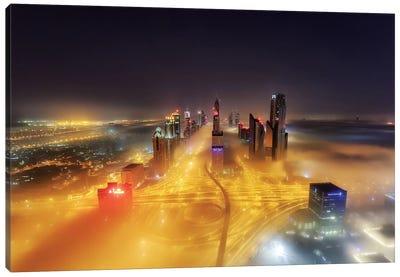 Fog Invasion Canvas Art Print