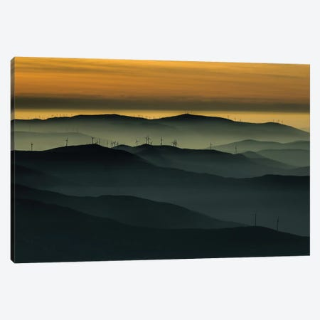 Below The Horizon Canvas Print #OXM2045} by Rui Correia Art Print