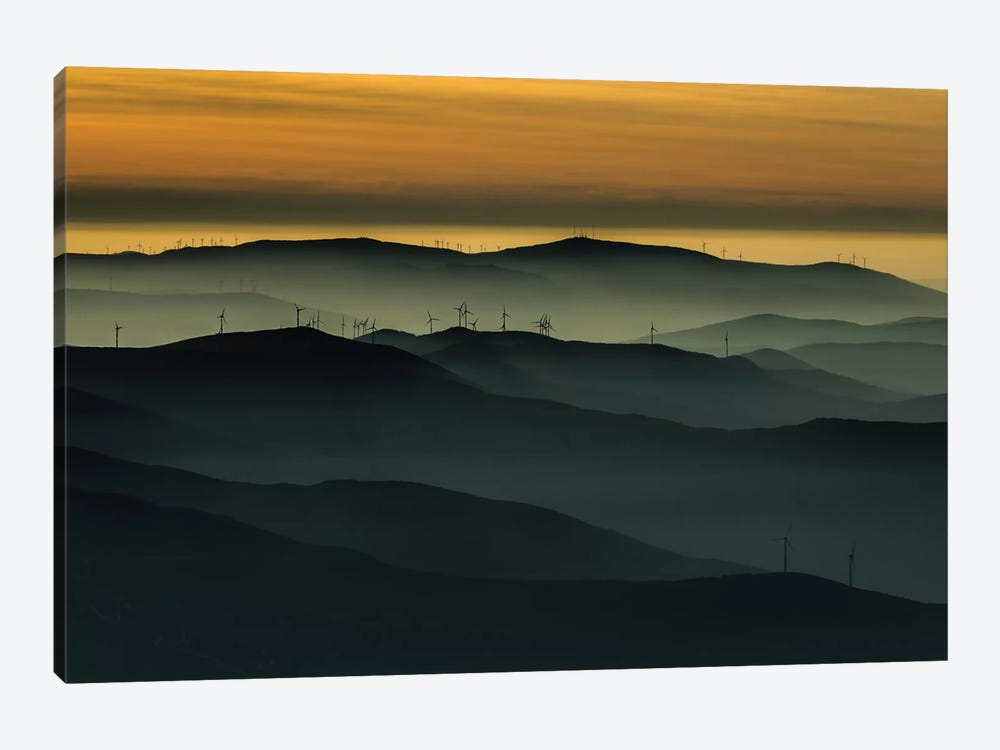 Below The Horizon by Rui Correia 1-piece Canvas Art