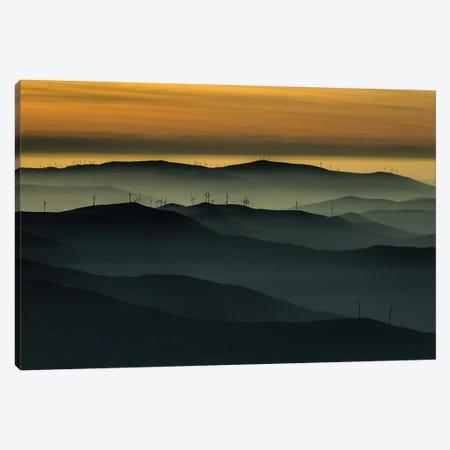 Below The Horizon Canvas Print #OXM2045} by Rui Correia Art Print