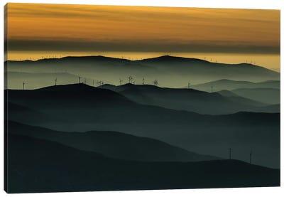 Below The Horizon Canvas Art Print