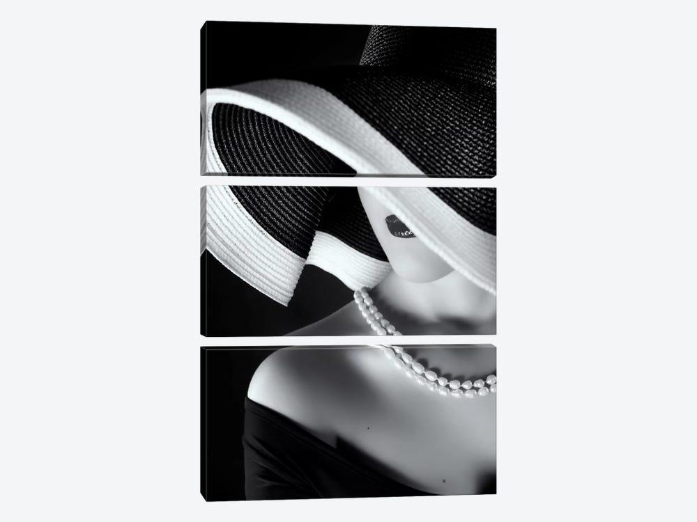 La Femme au Chapeau by Ruslan Bolgov 3-piece Canvas Artwork