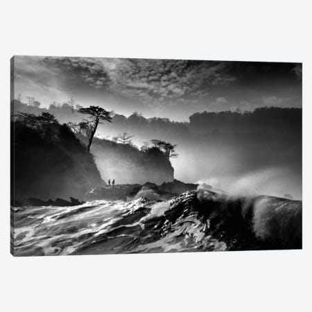Waves Present That Morning Canvas Print #OXM2050} by Saelanwangsa Canvas Art Print