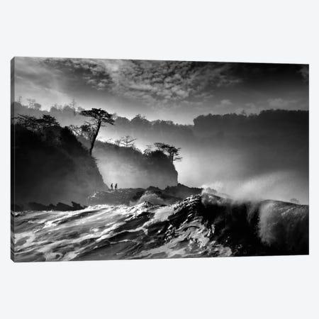 Waves Present That Morning Canvas Print #OXM2050} by Saelanwangsa Canvas Art Print