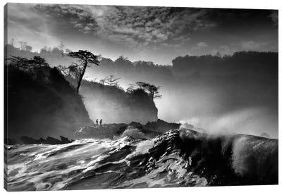 Waves Present That Morning Canvas Art Print