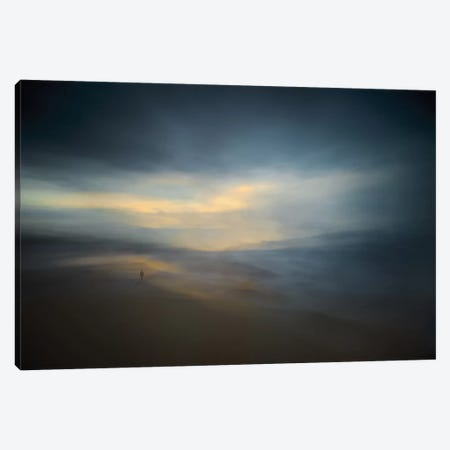 Walk Along The Edge Of Nowhere Canvas Print #OXM2061} by Santiago Pascual Buye Canvas Artwork