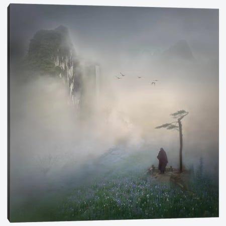 Follow The River To Where It Starts Canvas Print #OXM2079} by Shenshen Dou Art Print