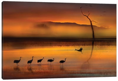 We Are Here Waiting For You Canvas Art Print