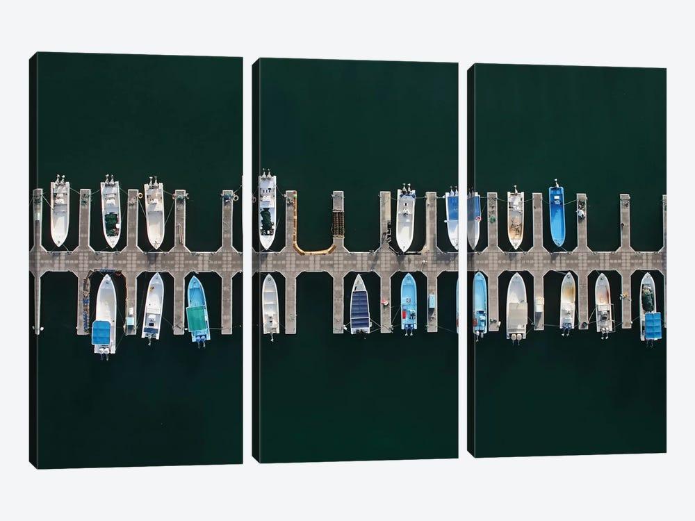 Vertical Alignment by Shoayb Hesham Khattab 3-piece Canvas Art Print