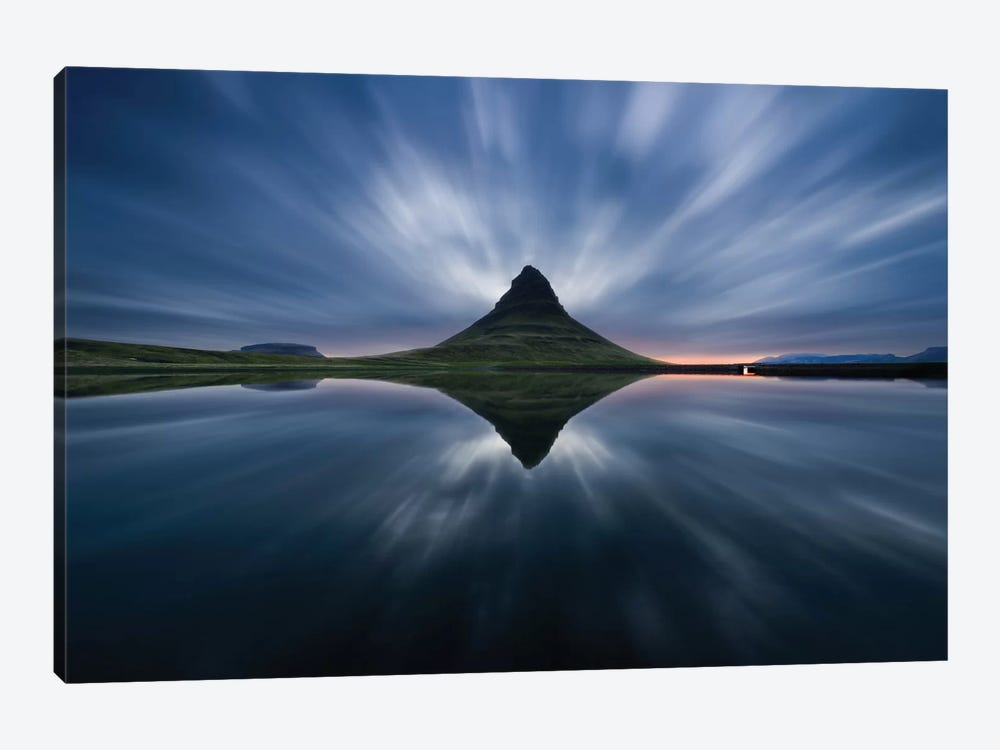 A Night At Kirkjufell 1-piece Art Print