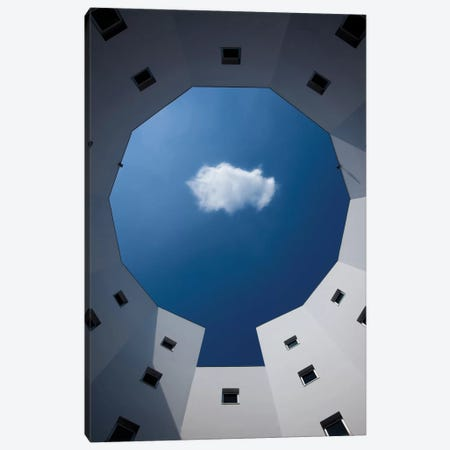 Cloud Canvas Print #OXM2087} by Sobul Art Print
