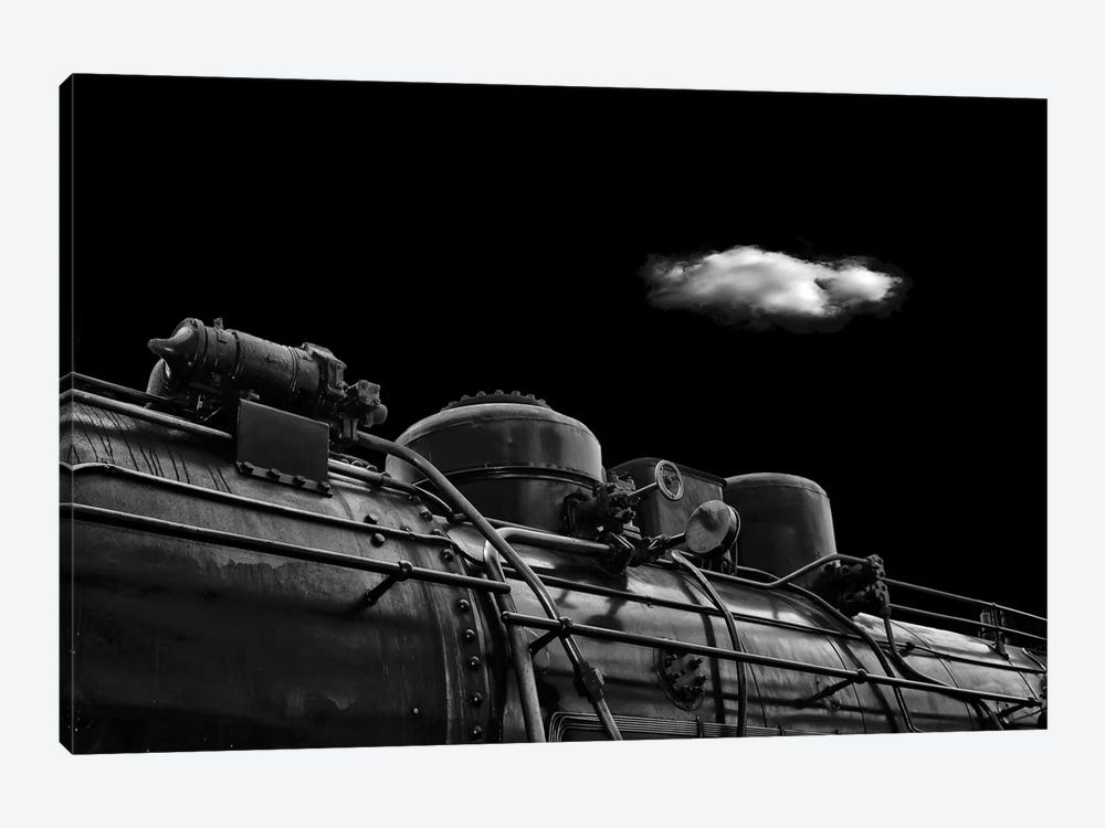 The Old Days by Stefan Eisele 1-piece Canvas Print