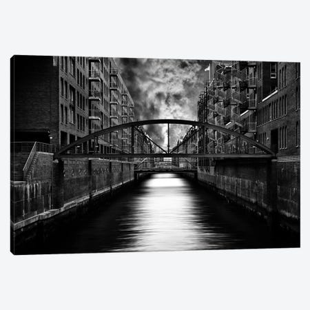 The Other Side Of Hamburg Canvas Print #OXM2102} by Stefan Eisele Art Print