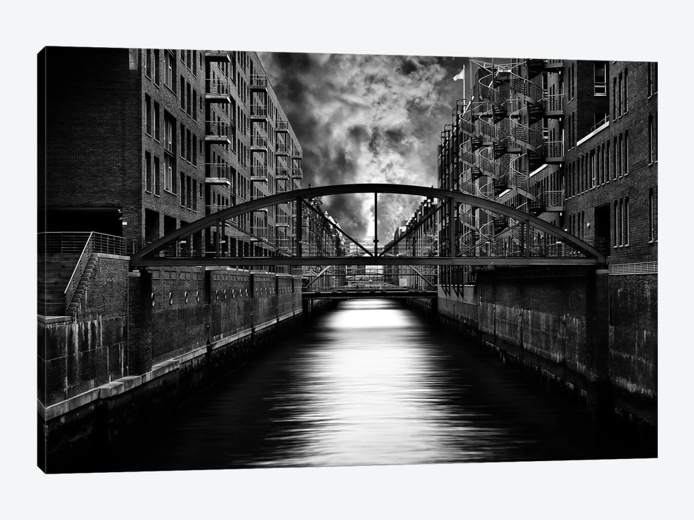 The Other Side Of Hamburg by Stefan Eisele 1-piece Canvas Wall Art