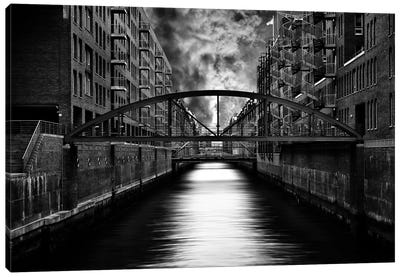 The Other Side Of Hamburg Canvas Art Print