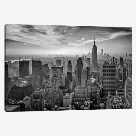 Hazy Gotham Canvas Print #OXM2107} by Stefan Schilbe Canvas Art