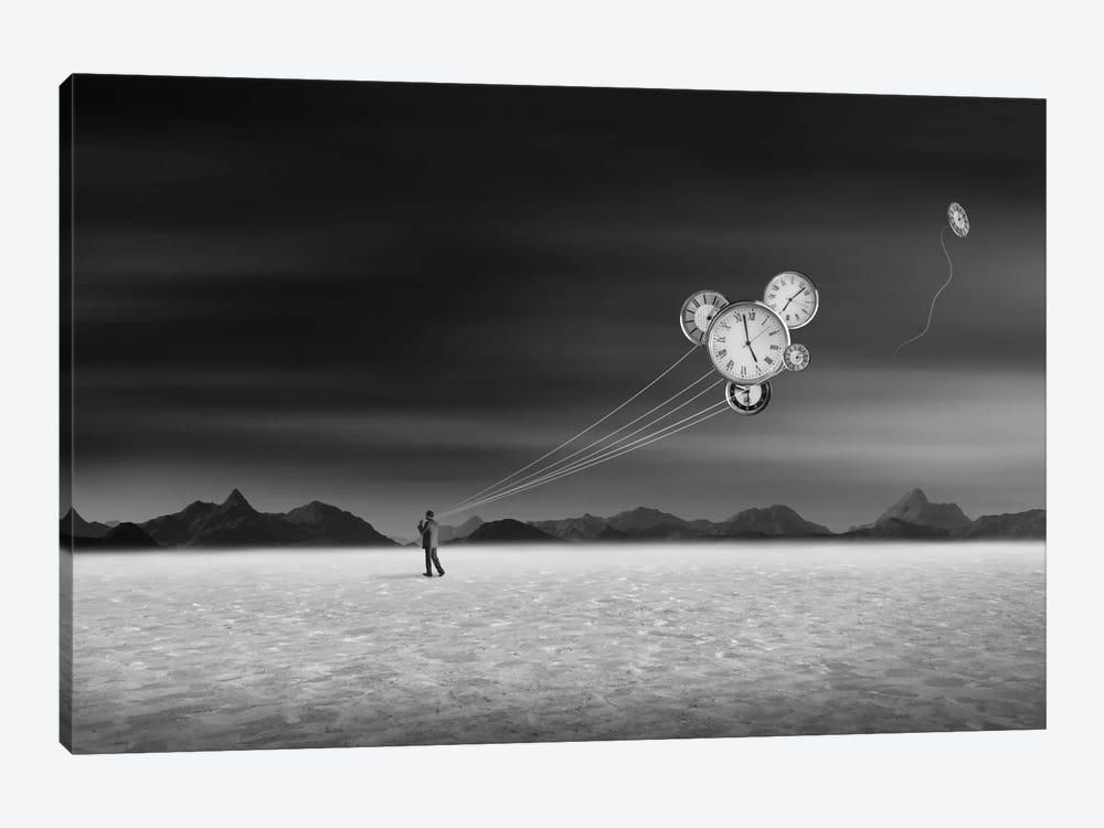 Time Keeper by Swarnendu Ghosh 1-piece Canvas Art