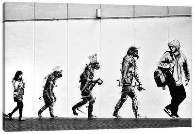 Evolution Canvas Art Print