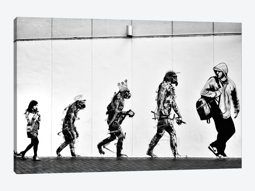 Evolution by Tatsuo Suzuki 1-piece Canvas Art Print