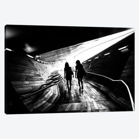 Walking Towards The Light Canvas Print #OXM2138} by Tetsuya Hashimoto Canvas Art