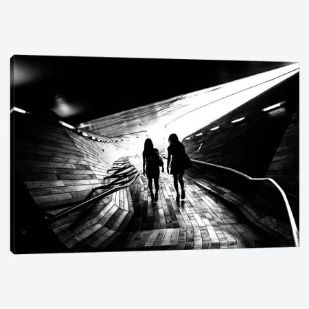 Walking Towards The Light Canvas Print #OXM2138} by Tetsuya Hashimoto Canvas Art