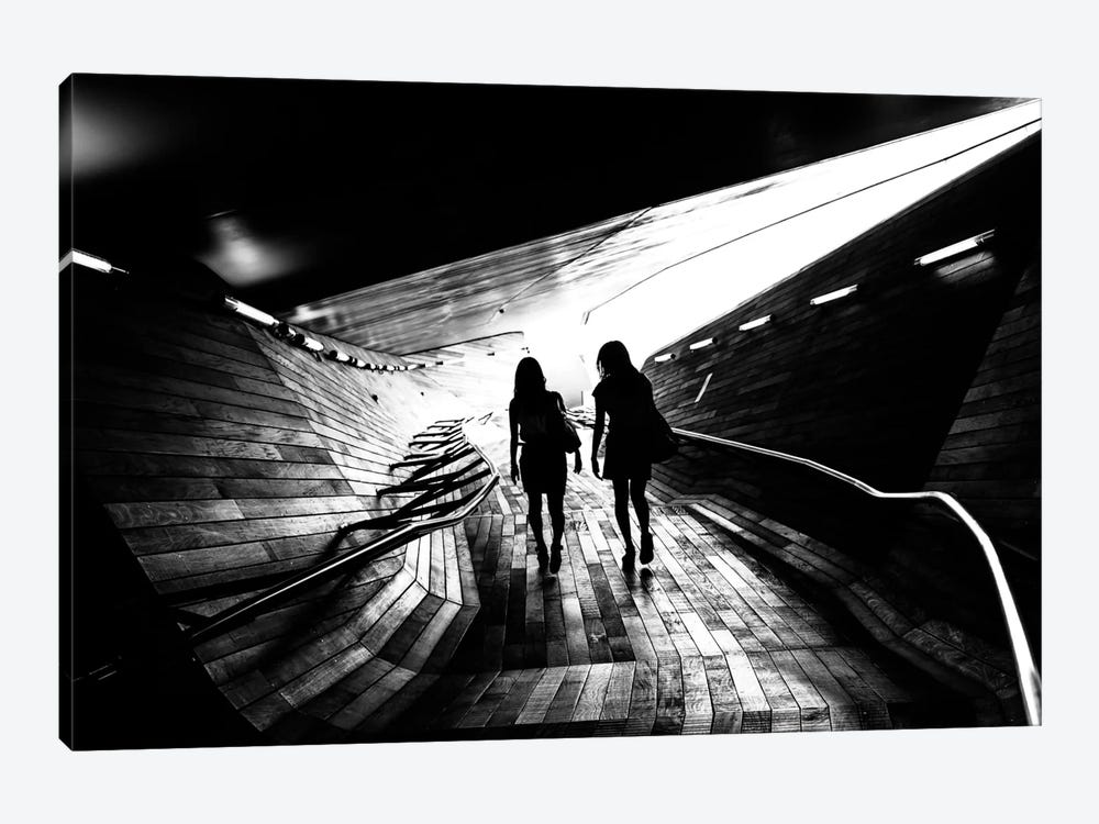Walking Towards The Light by Tetsuya Hashimoto 1-piece Art Print
