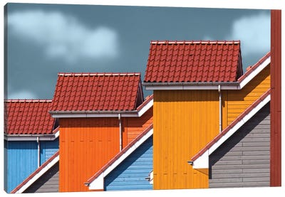 Roofs Canvas Art Print