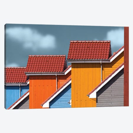 Roofs Canvas Print #OXM2139} by Theo Luycx Canvas Art