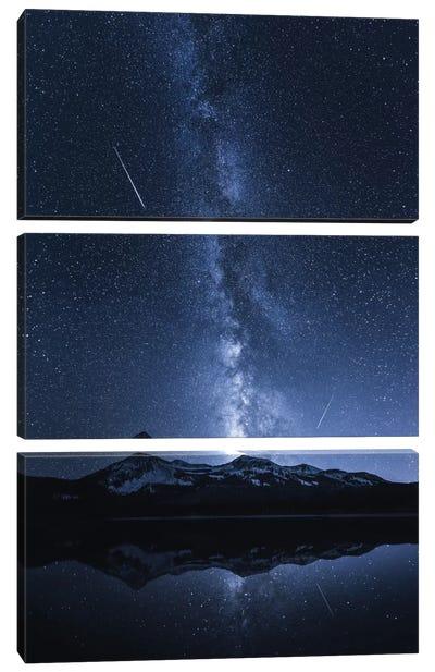 Galaxy's Reflection Canvas Art Print