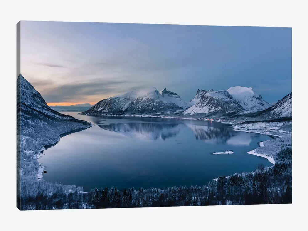 Polar Night by Tomasz Wozniak 1-piece Canvas Wall Art