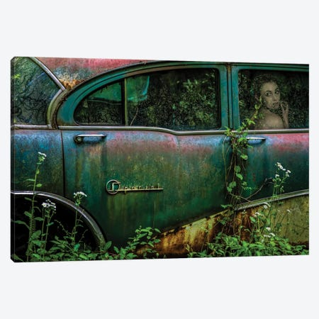 Special Girl Canvas Print #OXM2167} by Tony Mearman Canvas Wall Art