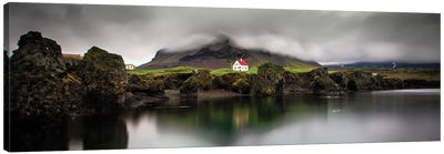The Little House Canvas Art Print