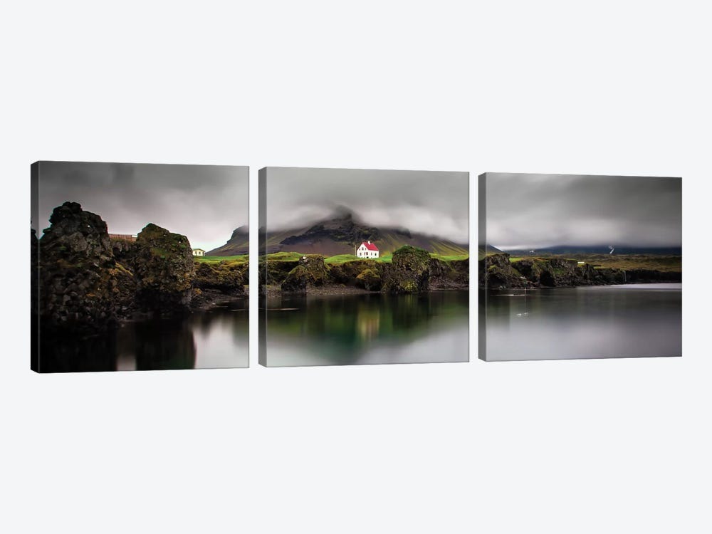 The Little House by Wim Denijs 3-piece Art Print