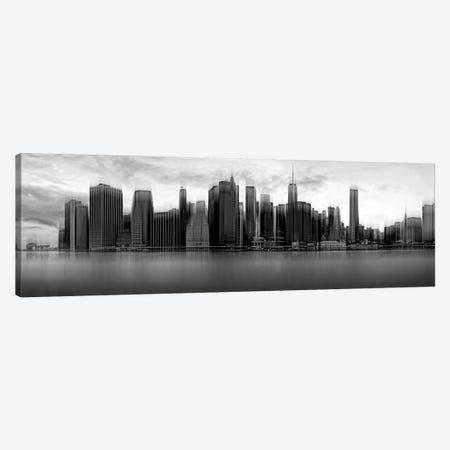 Downtown Skyline, New York City, New York, USA Canvas Print #OXM2217} by Wim Schuurmans Canvas Wall Art