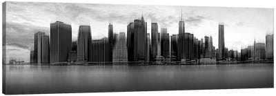 Downtown Skyline, New York City, New York, USA Canvas Art Print