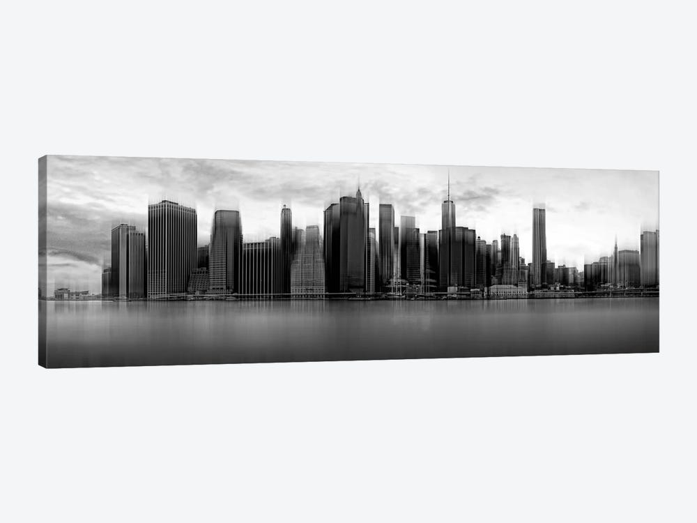Downtown Skyline, New York City, New York, USA by Wim Schuurmans 1-piece Canvas Art