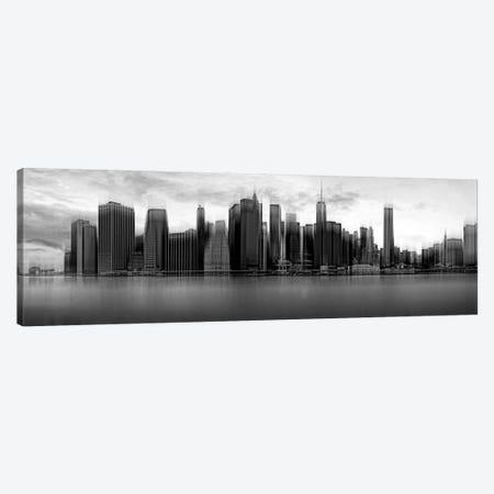 Downtown Skyline, New York City, New York, USA Canvas Print #OXM2217} by Wim Schuurmans Canvas Wall Art