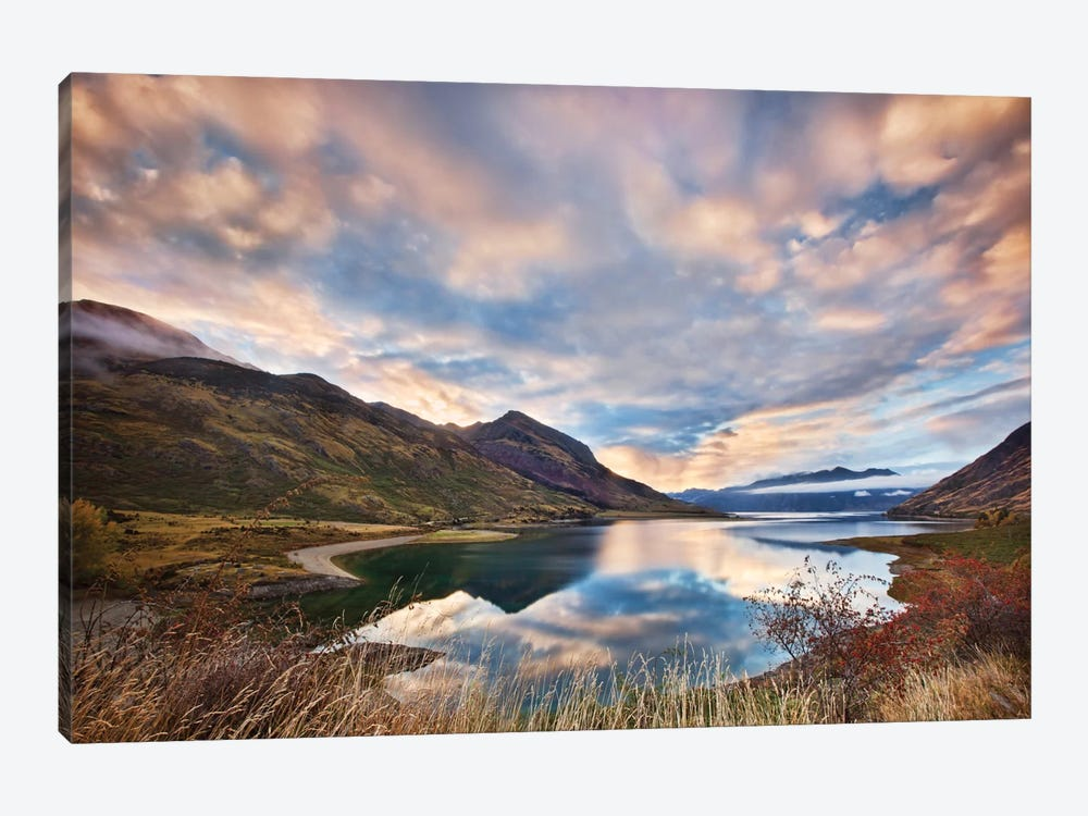 Morning Delight At Lake Hawea by Yan Zhang 1-piece Canvas Print