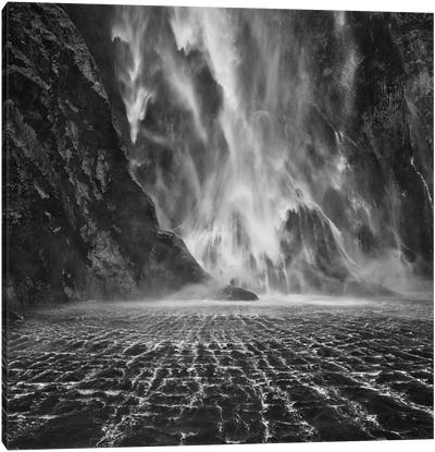 Stirling Falls, Milford Sound, South Island, New Zealand Canvas Print #OXM2233