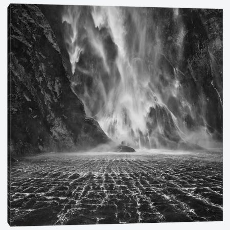 Stirling Falls, Milford Sound, South Island, New Zealand Canvas Print #OXM2233} by Yan Zhang Canvas Art Print