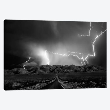 On The Road With The Thunder Gods Canvas Print #OXM2256} by Yvette Depaepe Canvas Wall Art
