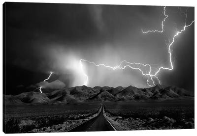 On The Road With The Thunder Gods Canvas Art Print