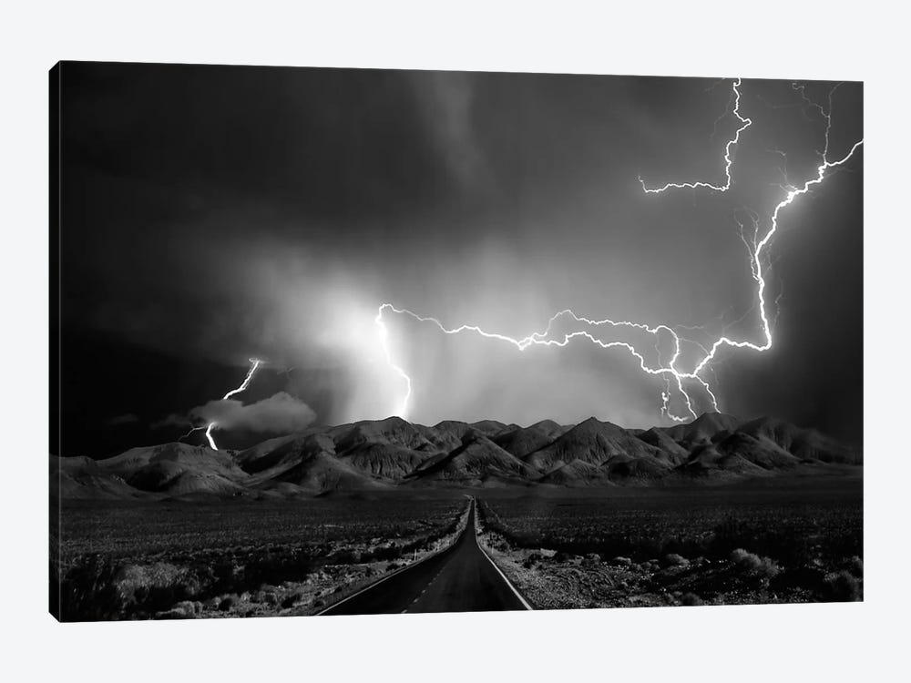 On The Road With The Thunder Gods by Yvette Depaepe 1-piece Canvas Print