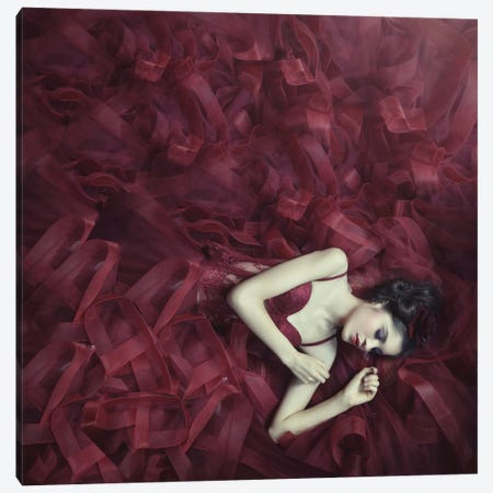 Red Blossom Canvas Print #OXM2265} by hardibudi Canvas Art Print