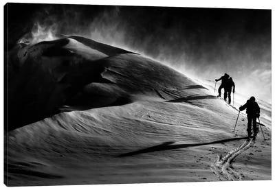 Windy Mountain Canvas Art Print