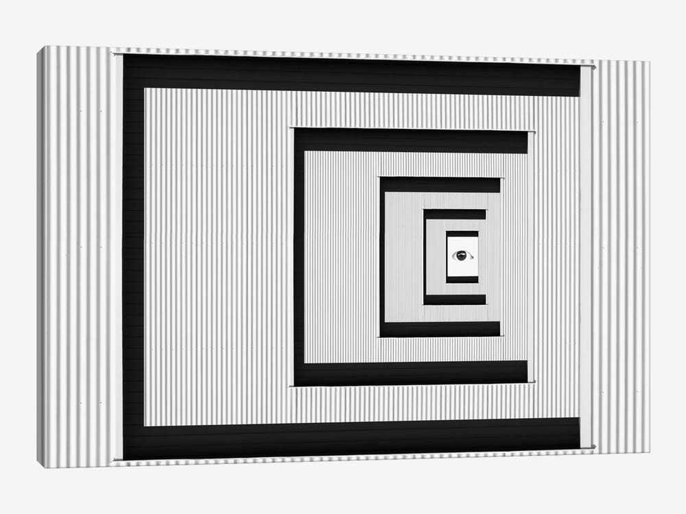 Eye Of Illusion by Jacqueline Hammer 1-piece Canvas Artwork