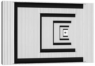 Eye Of Illusion Canvas Art Print