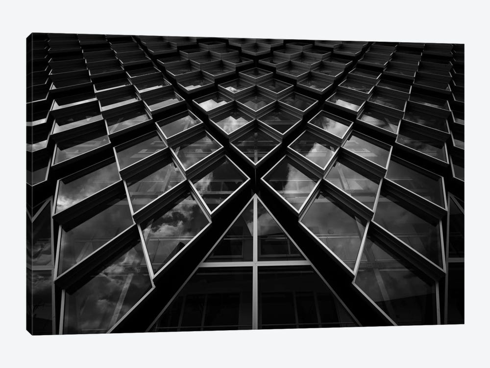 Diamond Windows by Jeroen van de Wiel 1-piece Art Print